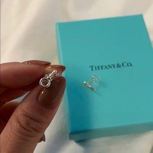 Tiffany&Co Silver Key Earring